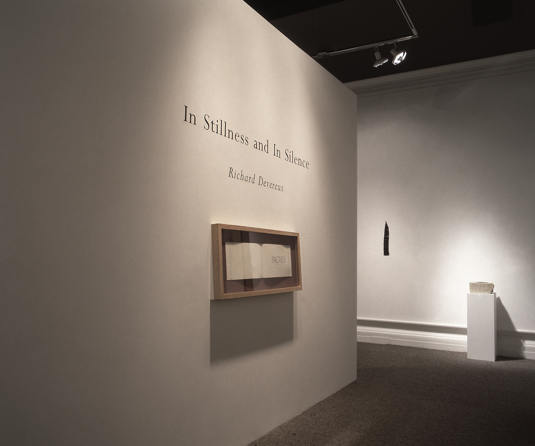 IN STILLNESS AND IN SILENCE   1994  Usher Gallery, Lincoln, UK  16 April–5 June