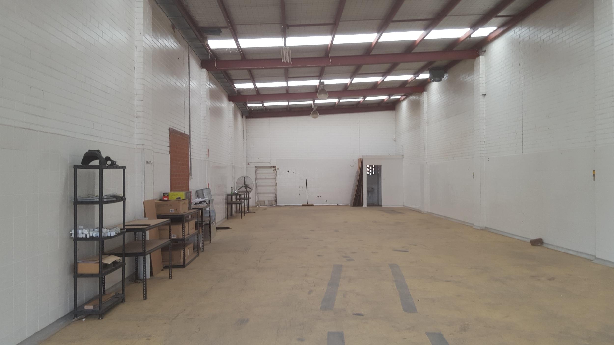 Passage of Flick Warehouse Empty