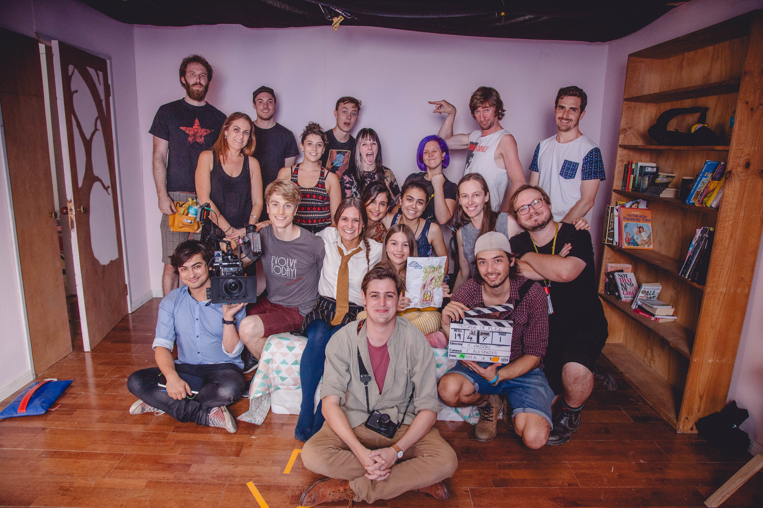 The Passage of Flick Cast and Crew!