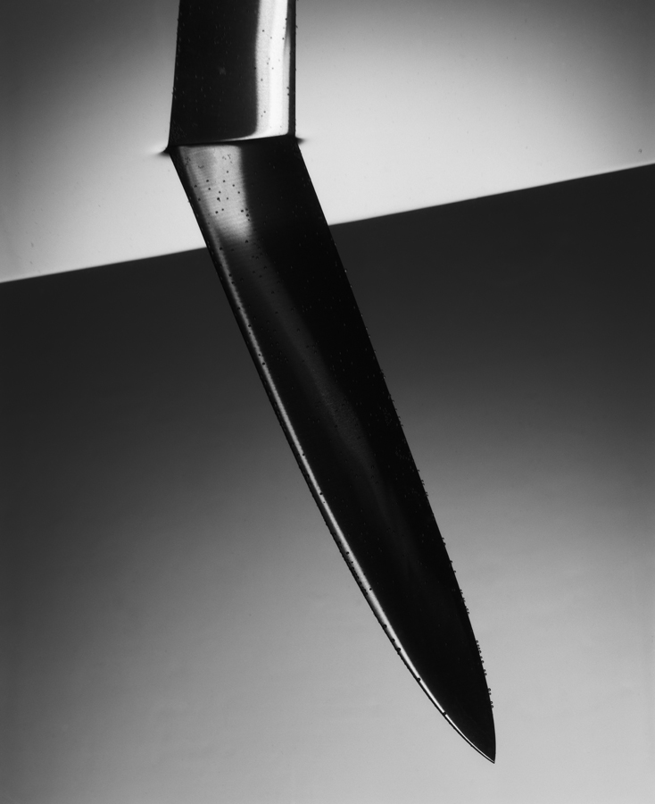 "Carte blanche about ""The knife"" for Agnés B."
