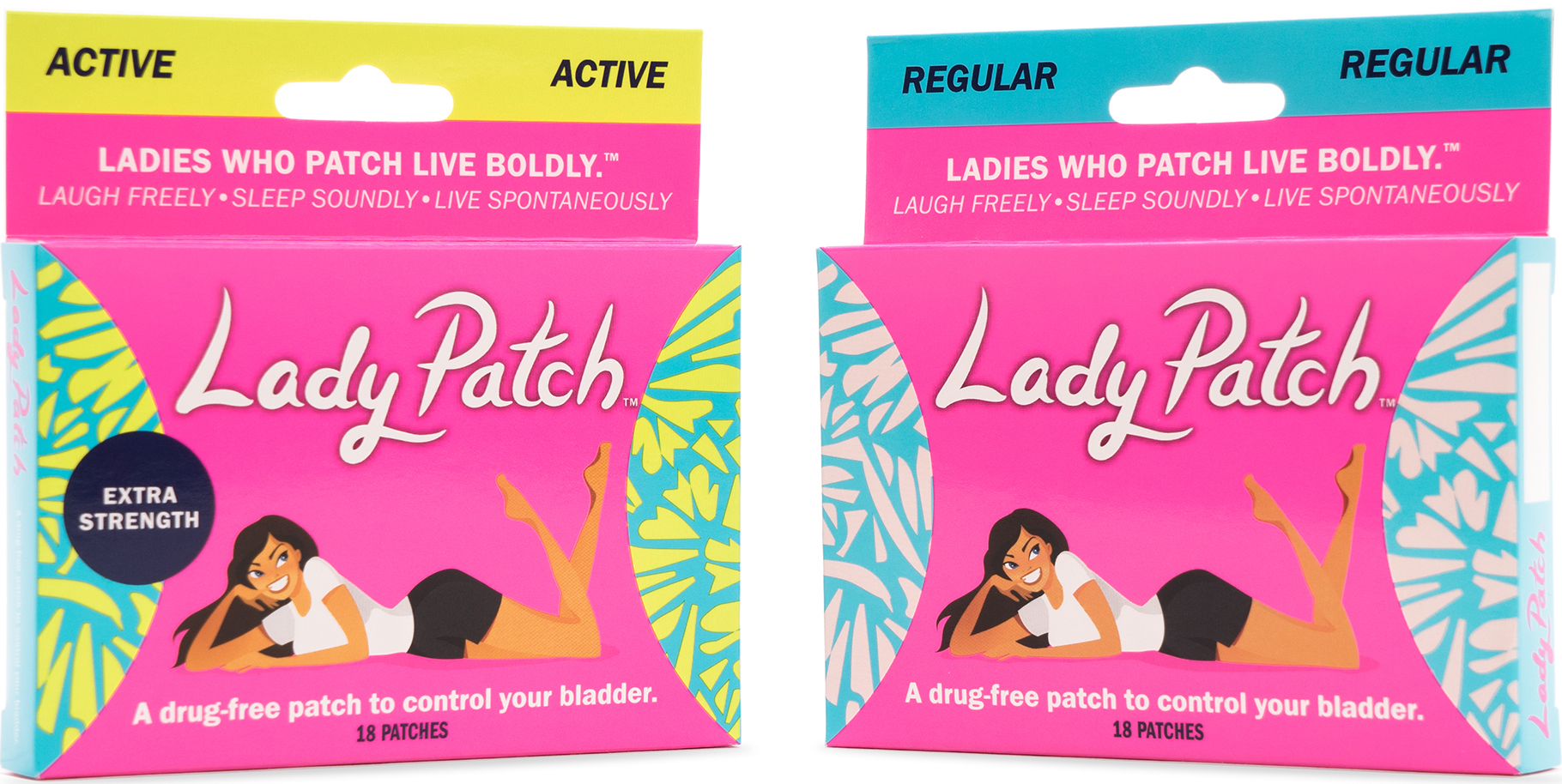 Lady Patch™Regular and Lady Patch™Active
