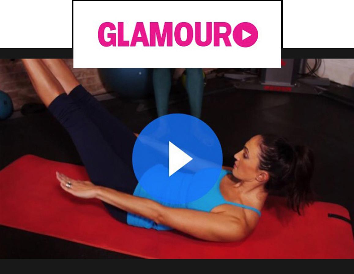 Glamour Magazine Victoria's Secret Angel Workout Videos