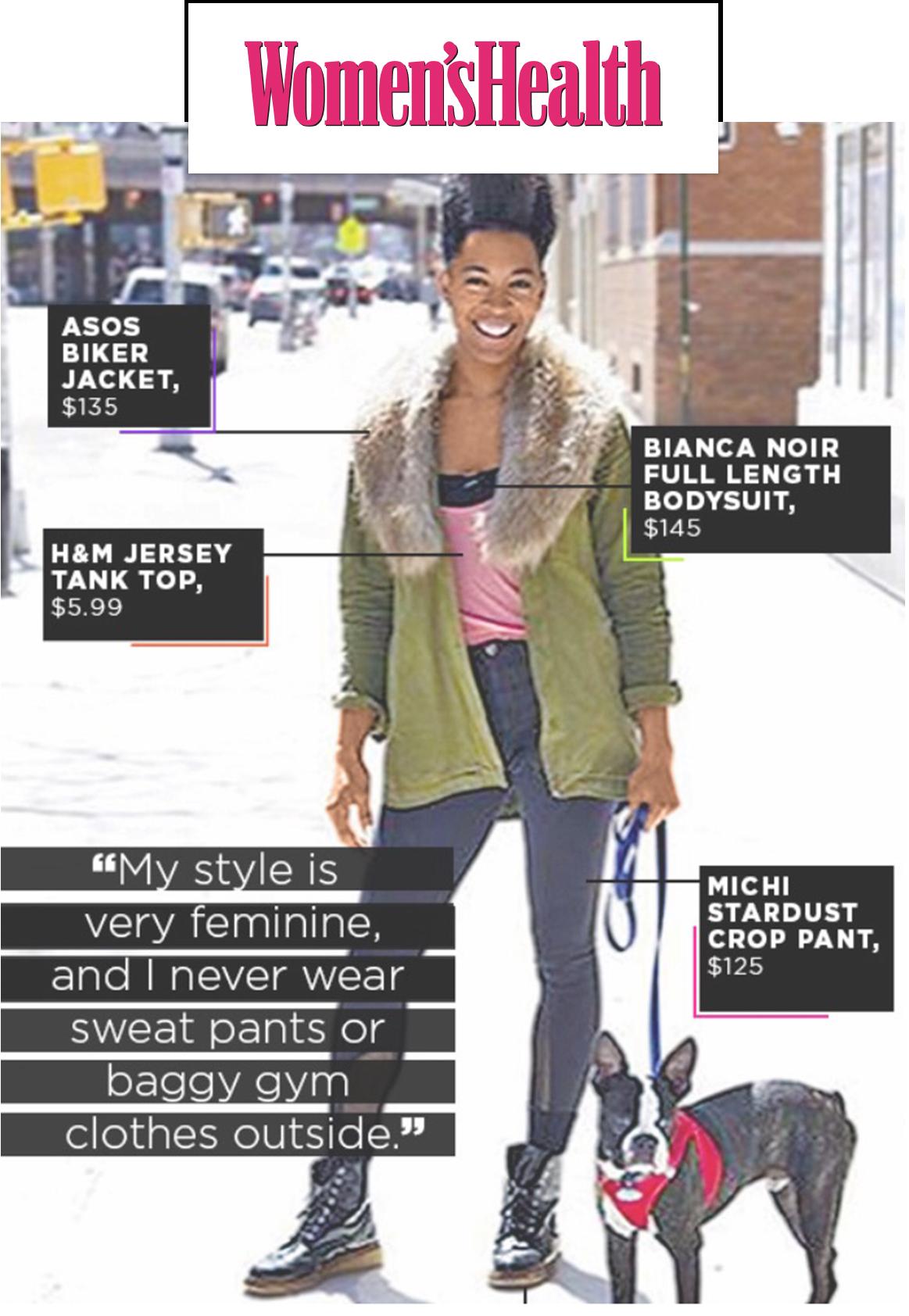 Women's Health Magazine Street Style