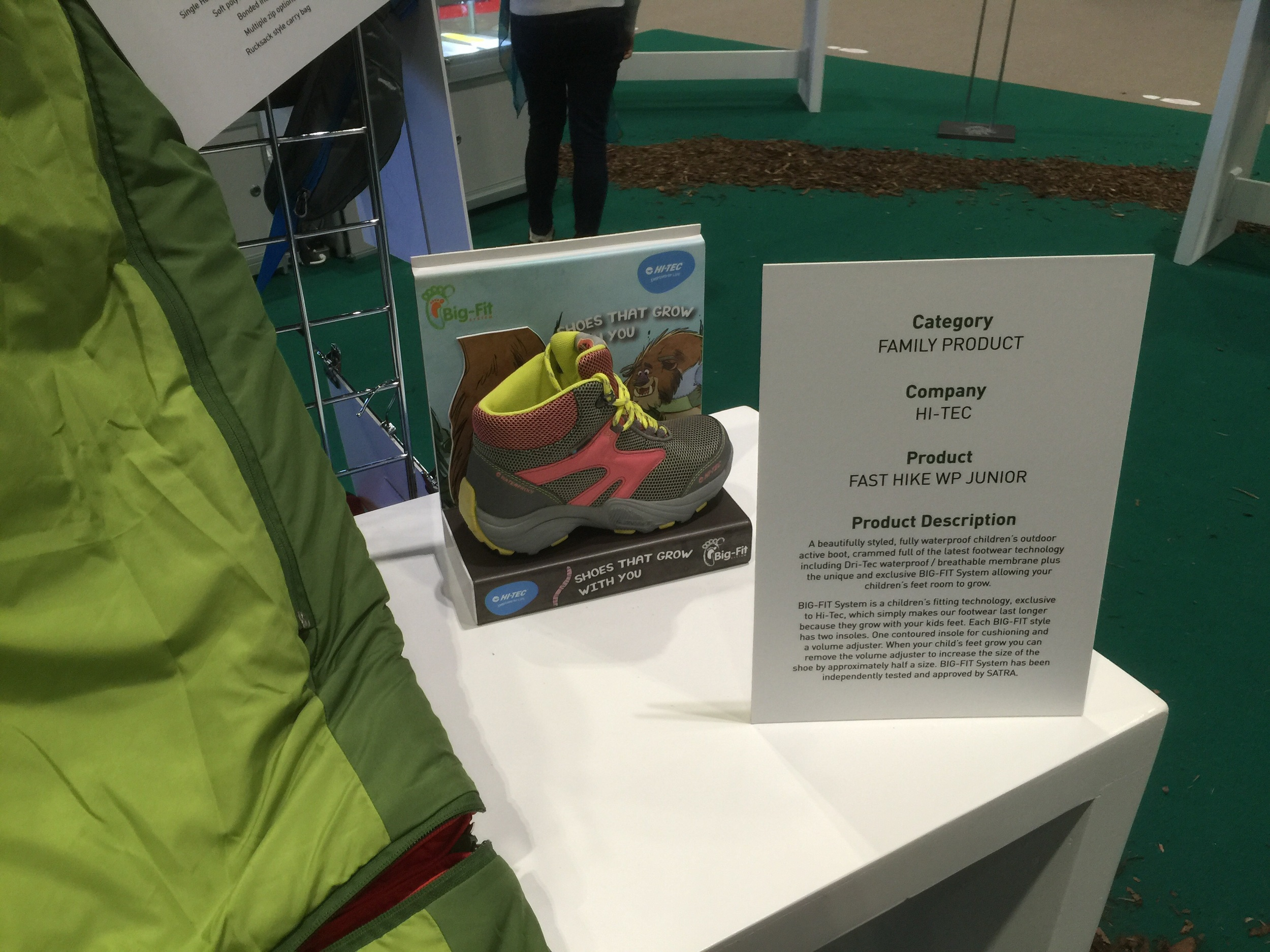 Hi-Tec's interesting answer to a common conundrum for parents - the need for good boots vs. the cost of ever-growing feet
