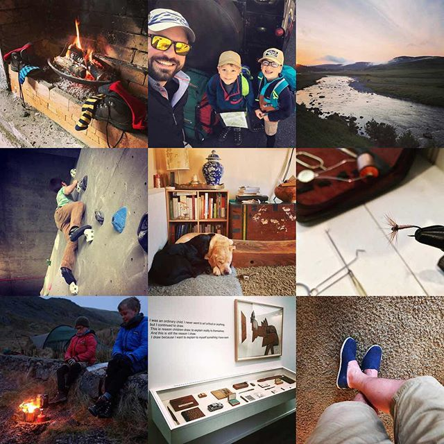 Having finally worked out how to do it, here are my #2017bestnine - here's to lots more #dadventure and fun in 2018!