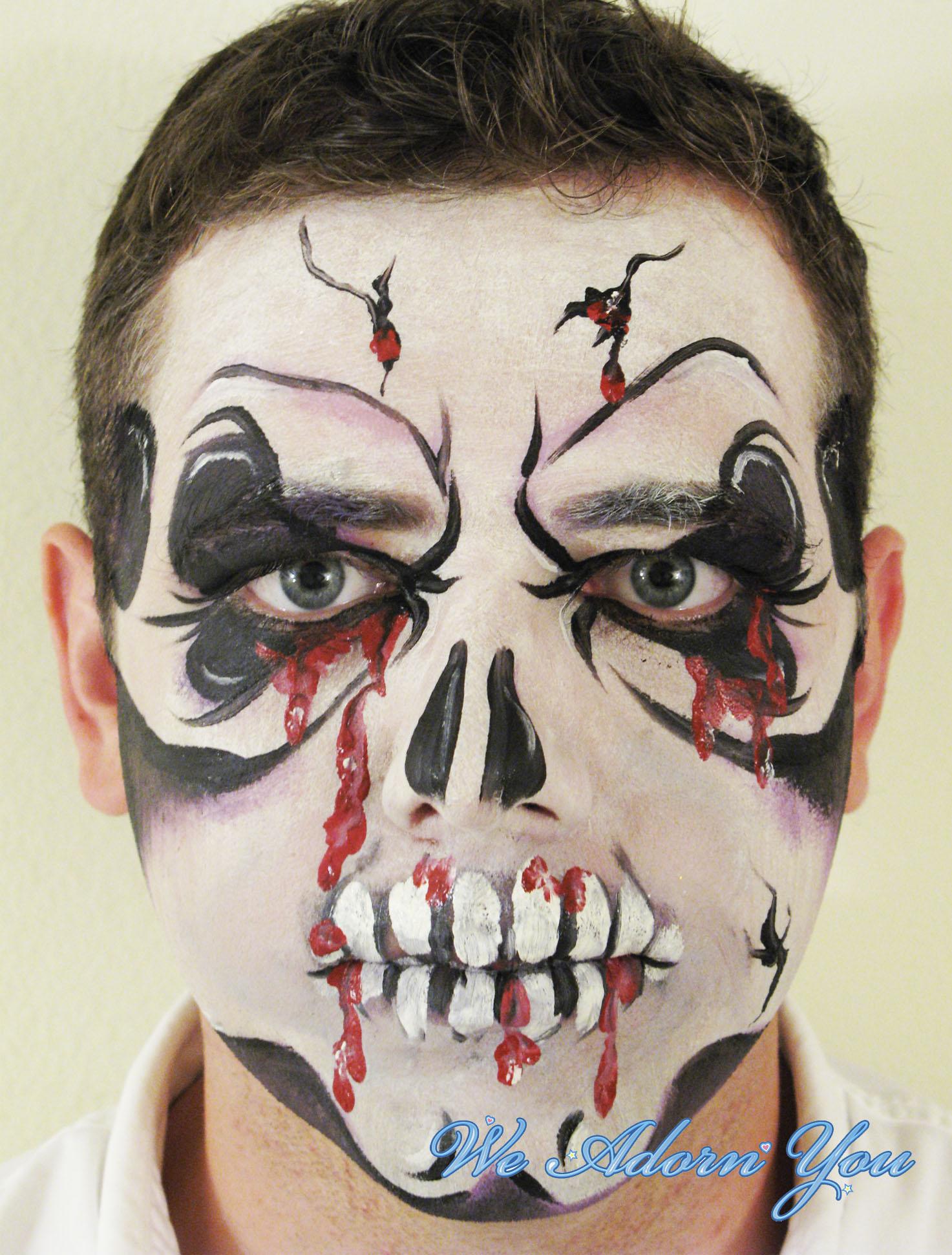 Face Painting Skull- We Adorn You.jpg