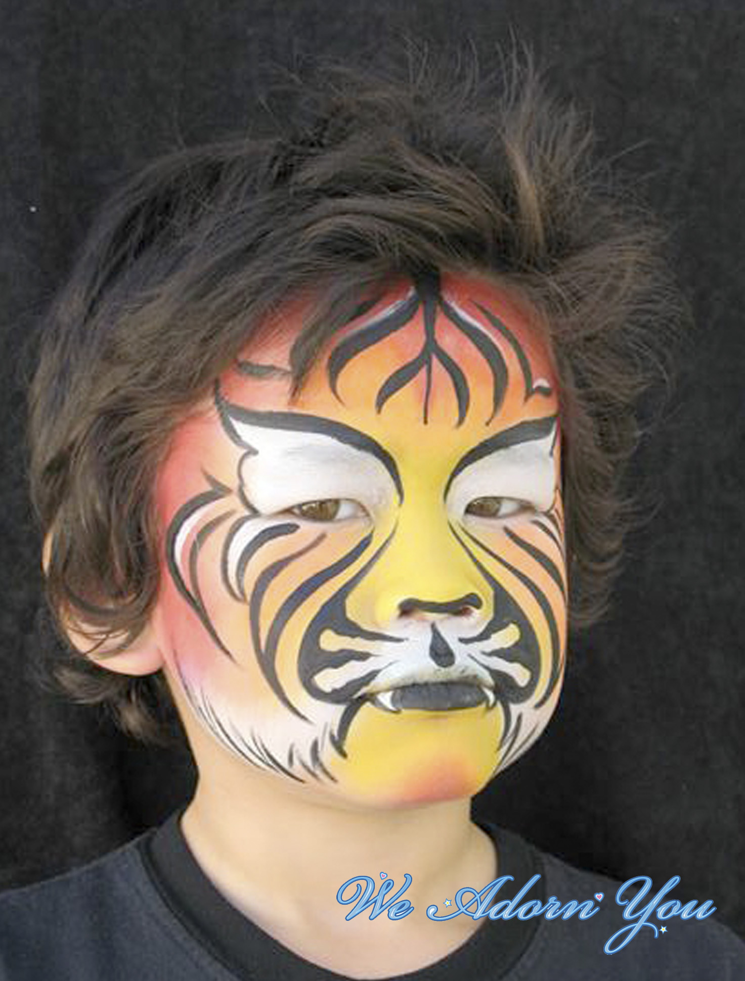 Face Painting Tiger- We Adorn You.jpg