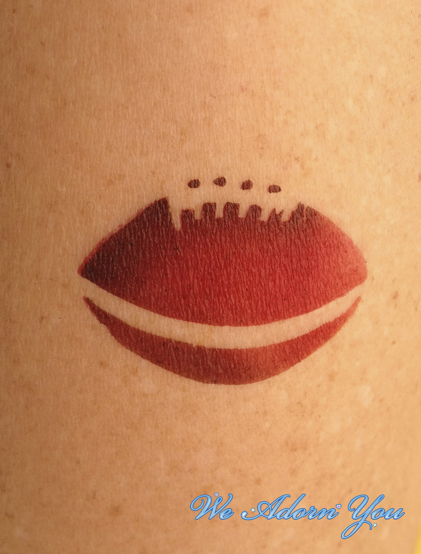 Airbrush Tattoo Football - We Adorn You.jpg