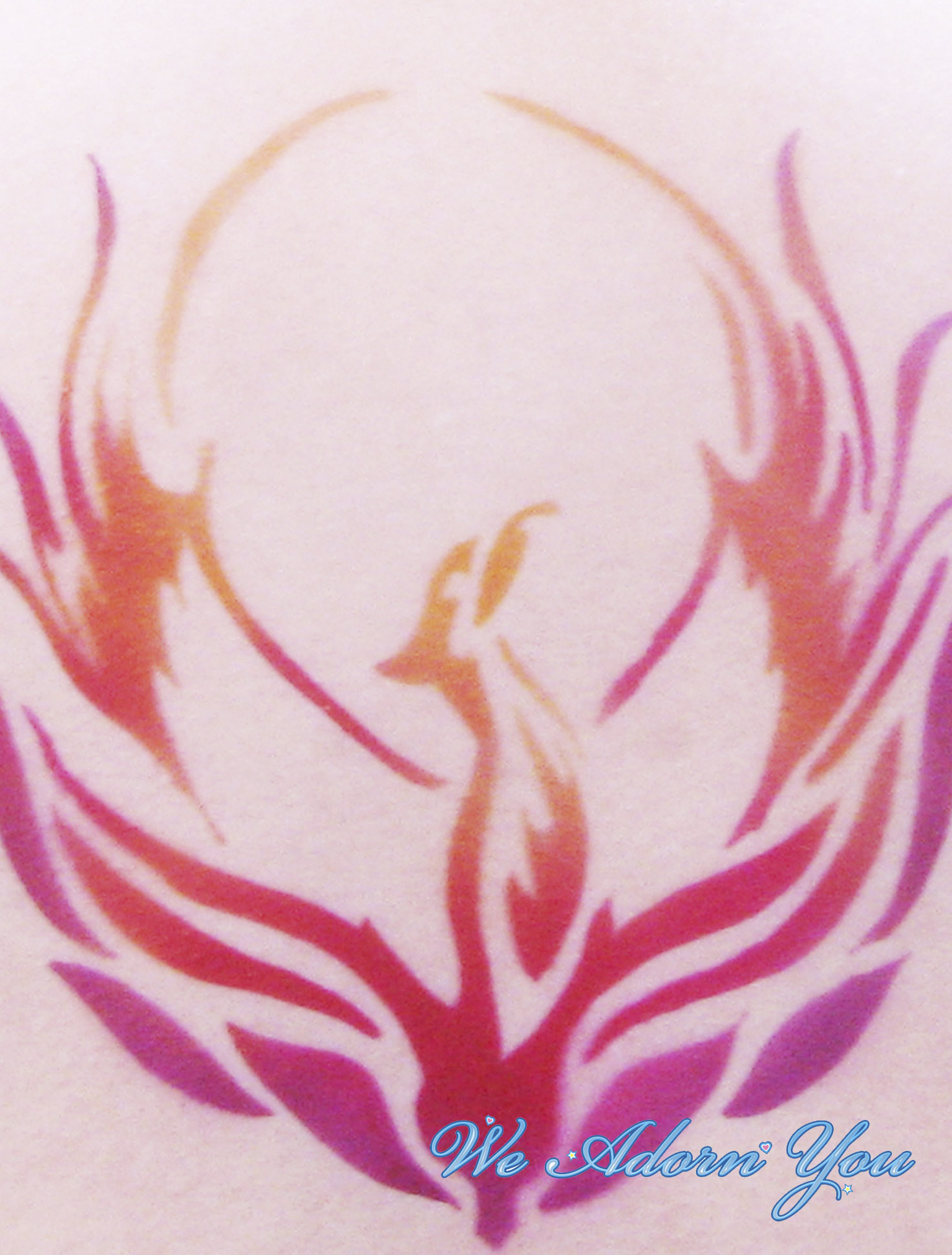 Airbrush Tattoo Phenoix - We Adorn You.jpg
