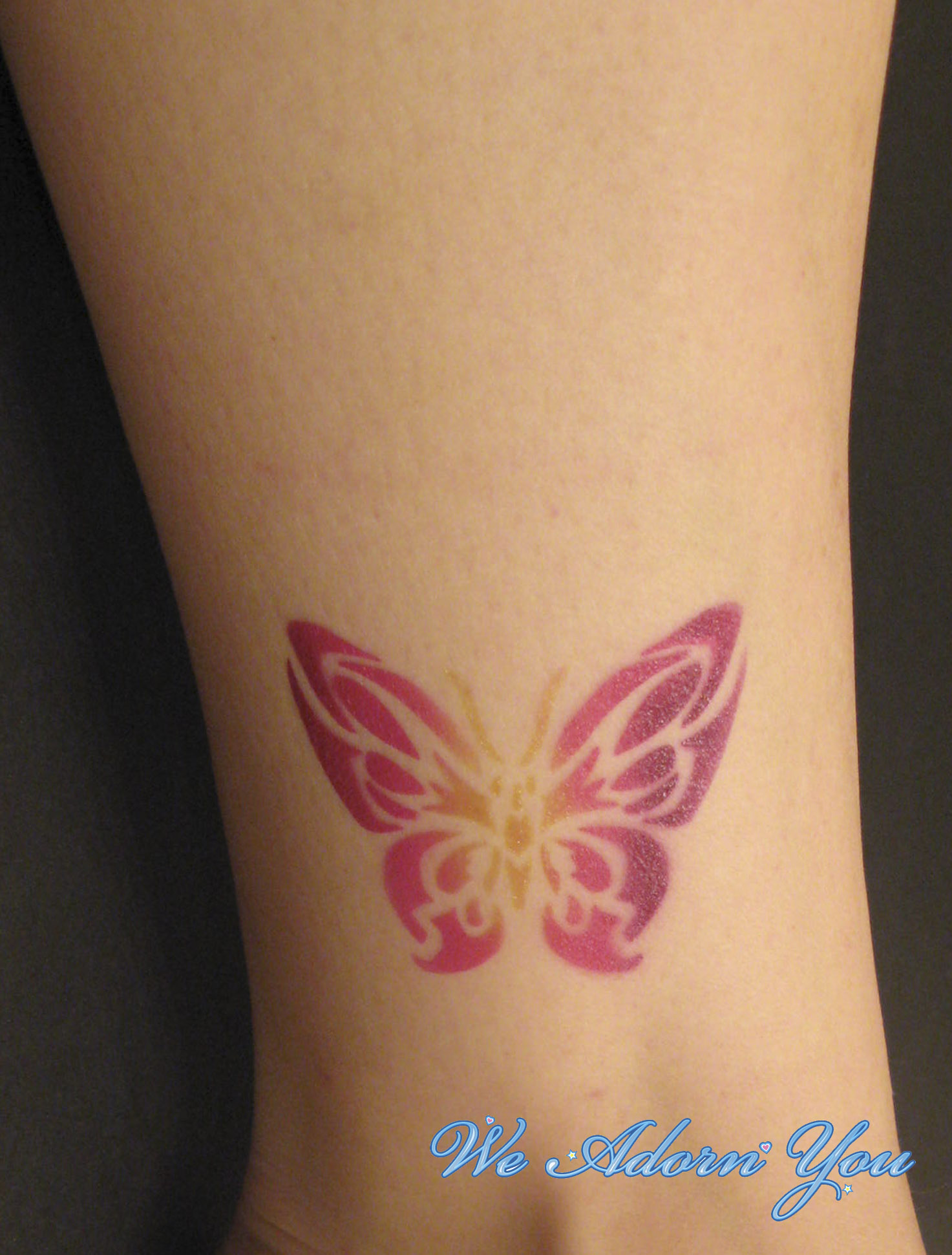 Airbrush Tattoo Butterfly- We Adorn You.jpg