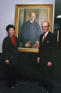 2001 unveiling ceremony of Chief Judge David Russell, U. S. District Court, Western District of Oklahoma Oklahoma City, Oklahoma