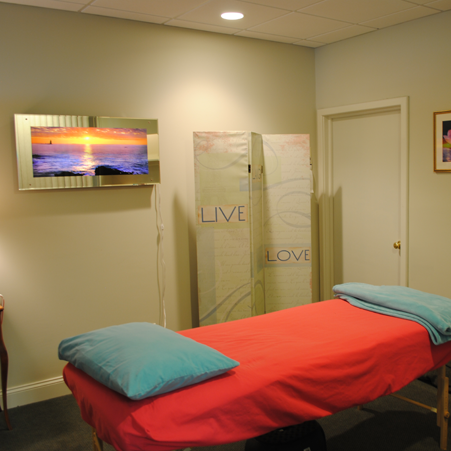 One of our treatment rooms