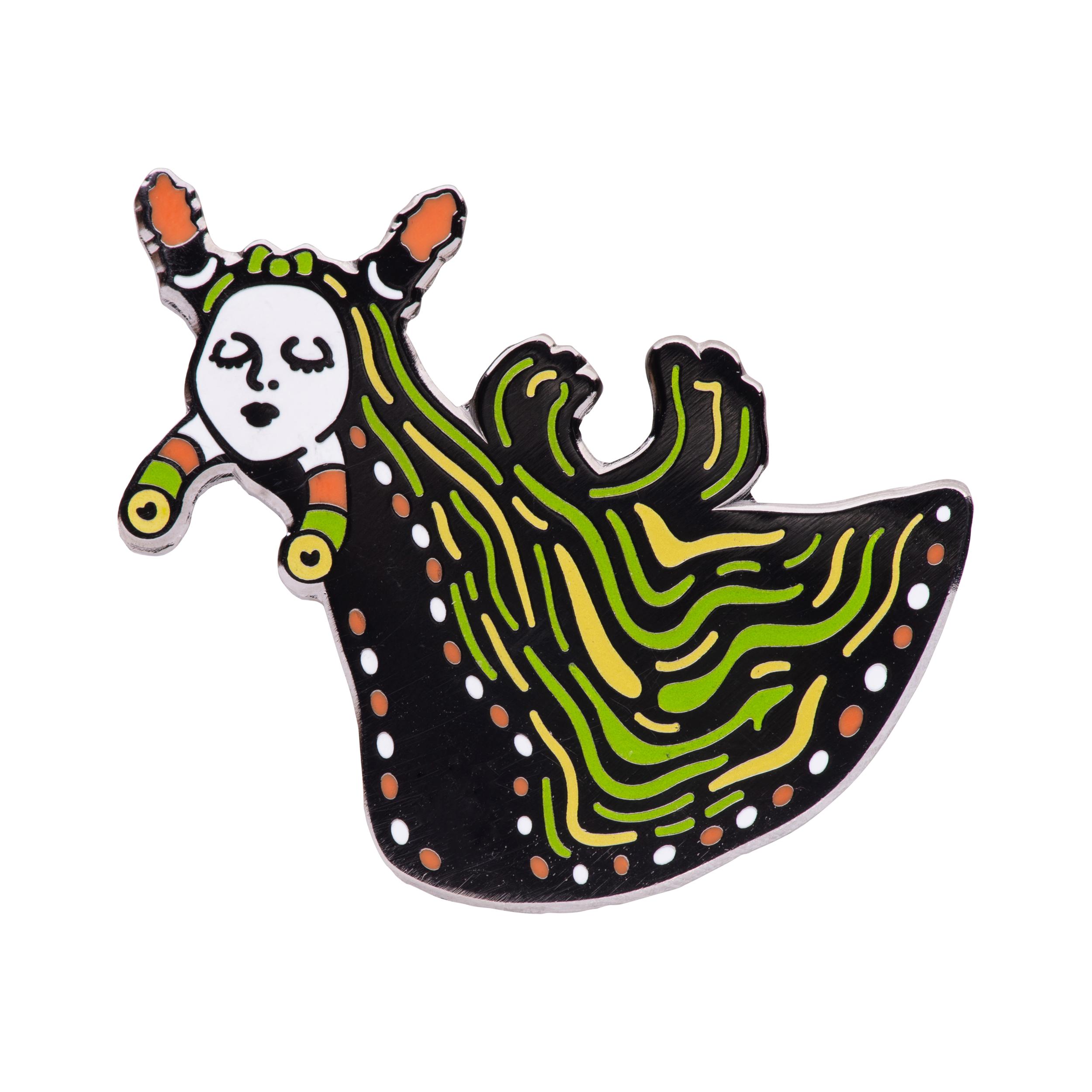 Sea Slug (glow-in-the-dark)