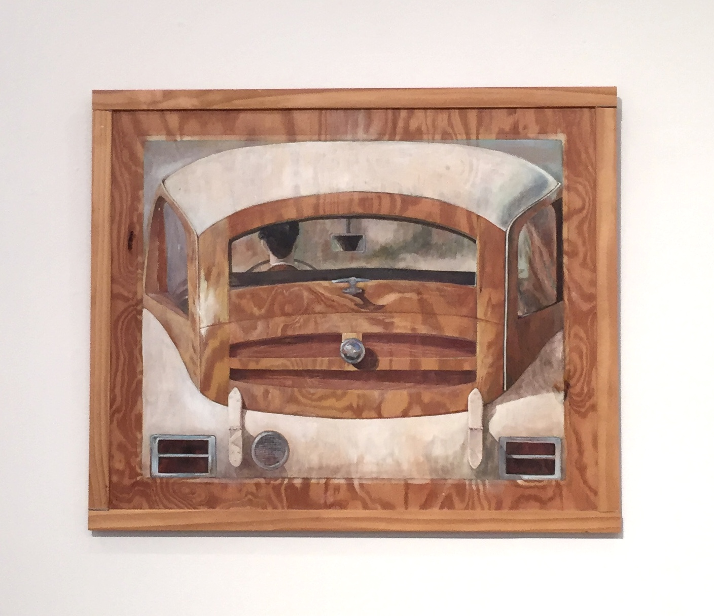 Magritte's Woodie