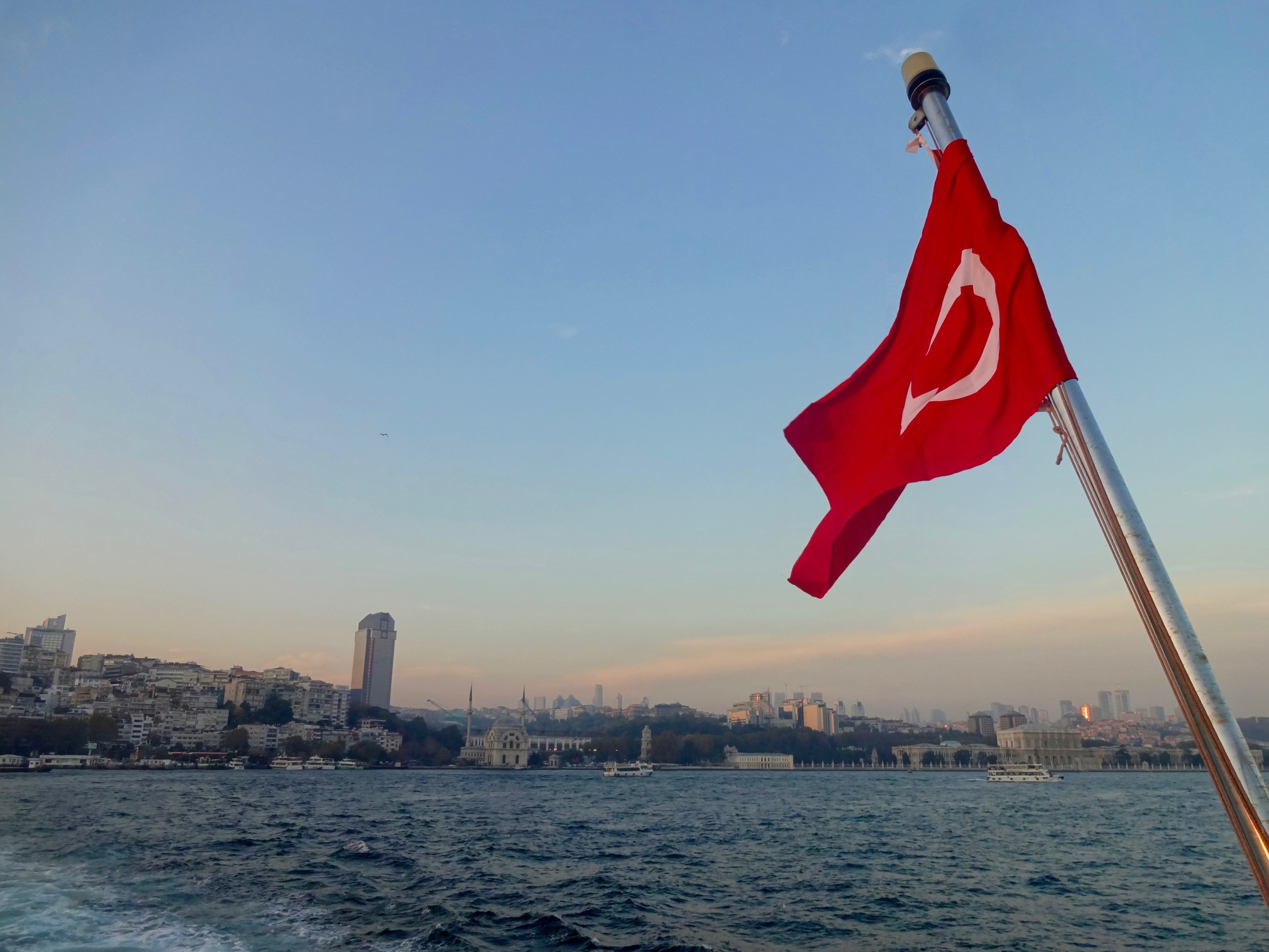 FERRY RIDE IN ISTANBUL, TURKEY - M.QUIGELY