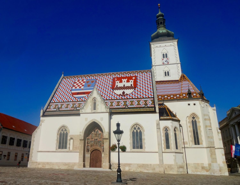ST. MARK'S CHURCH, ZAGREB, CROATIA - M.QUIGLEY