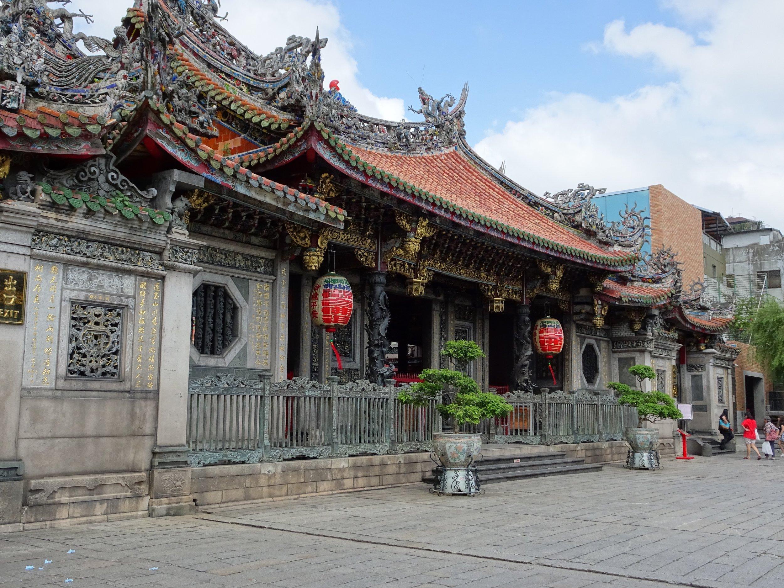 longshan temple in  TAIPEI, TAIWAN - M.QUGLEY