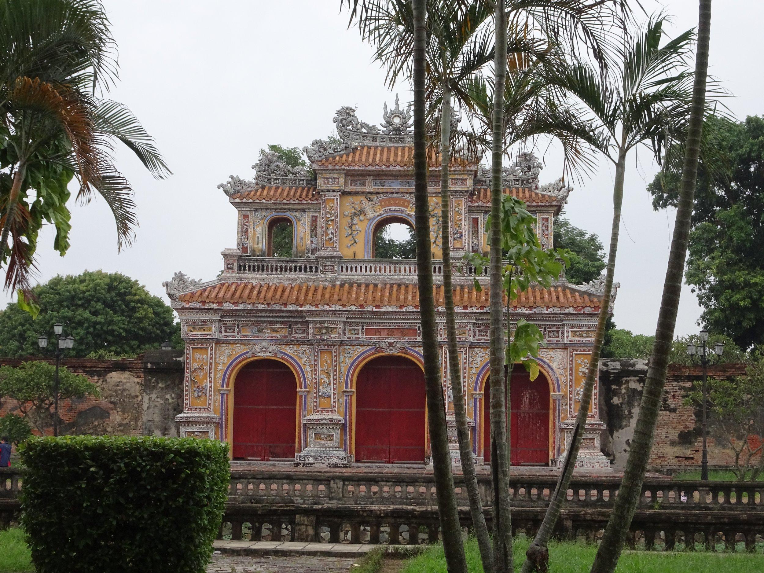 The citadel, HUE, VIETNAM - M.QUIGLEY