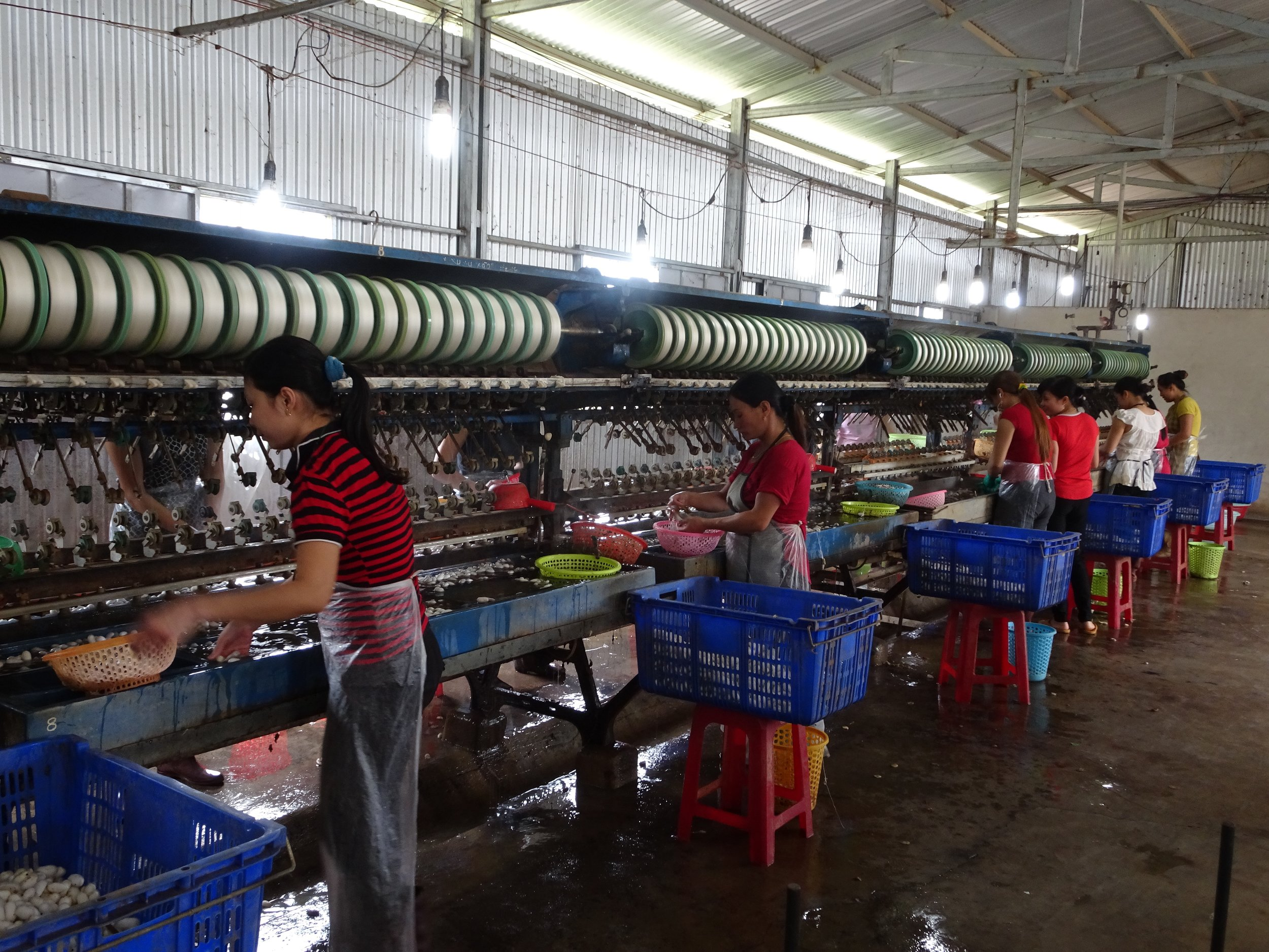 silk making in the central highlands, vietnam - m.quigley