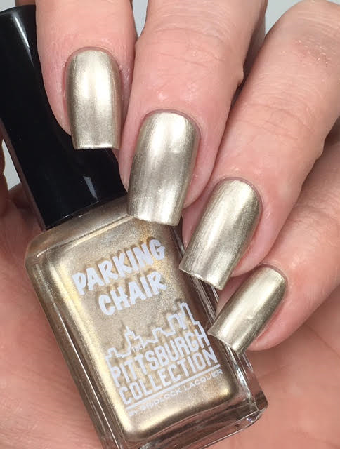 parking chair - gridlock lacquer
