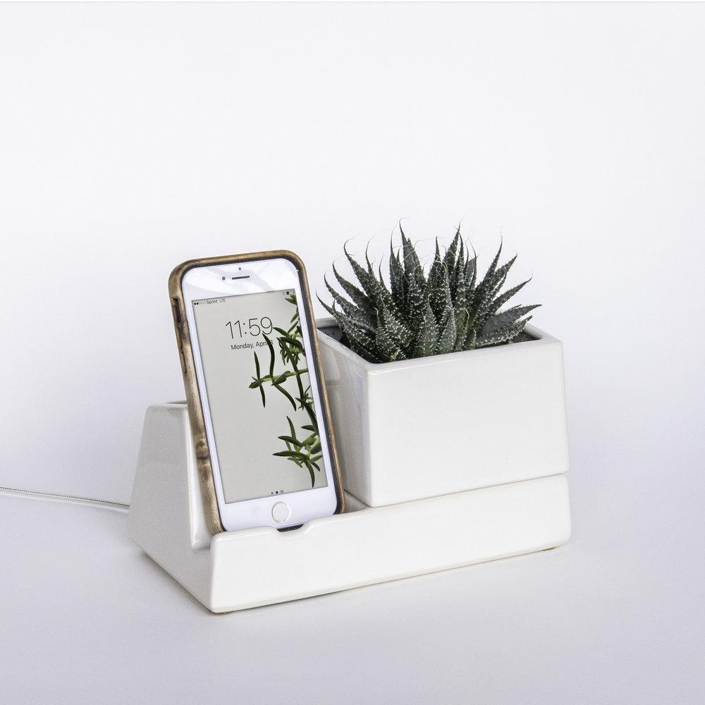 phone dock - stak ceramics