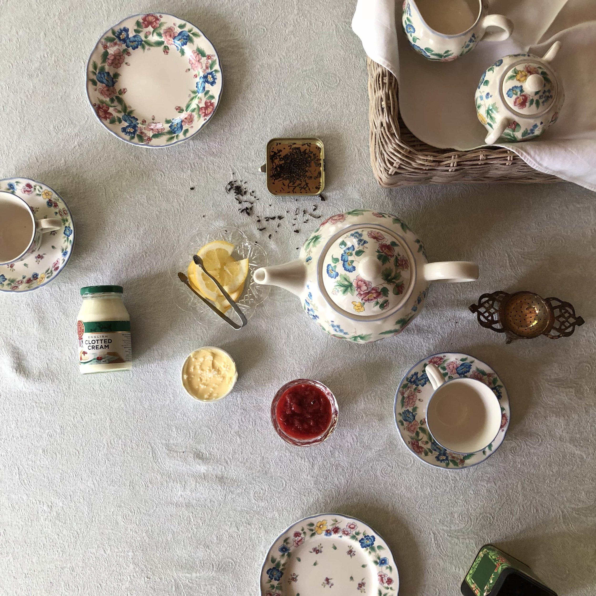royal wedding tea party