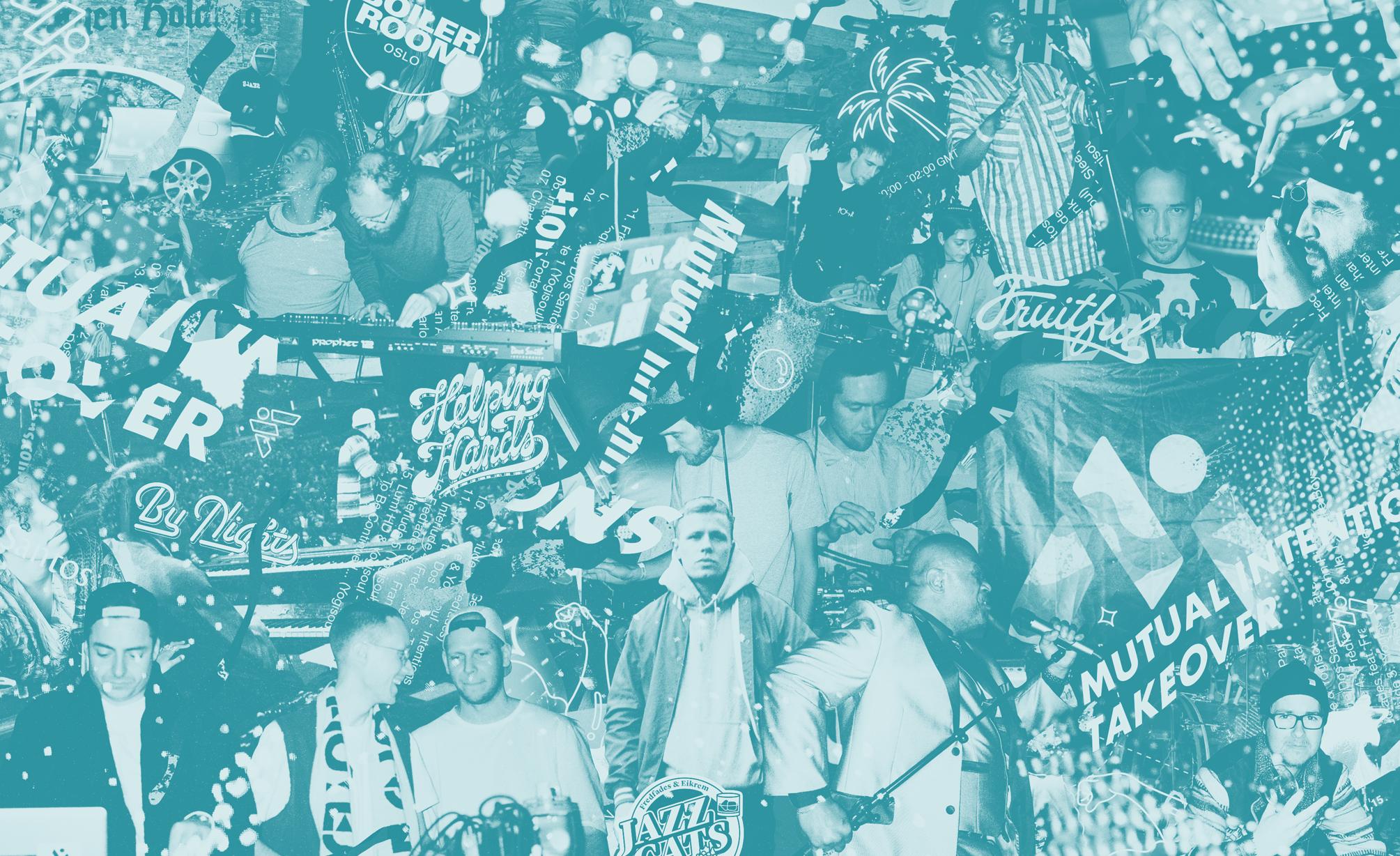 Collage by Hans Jørgen Wærner