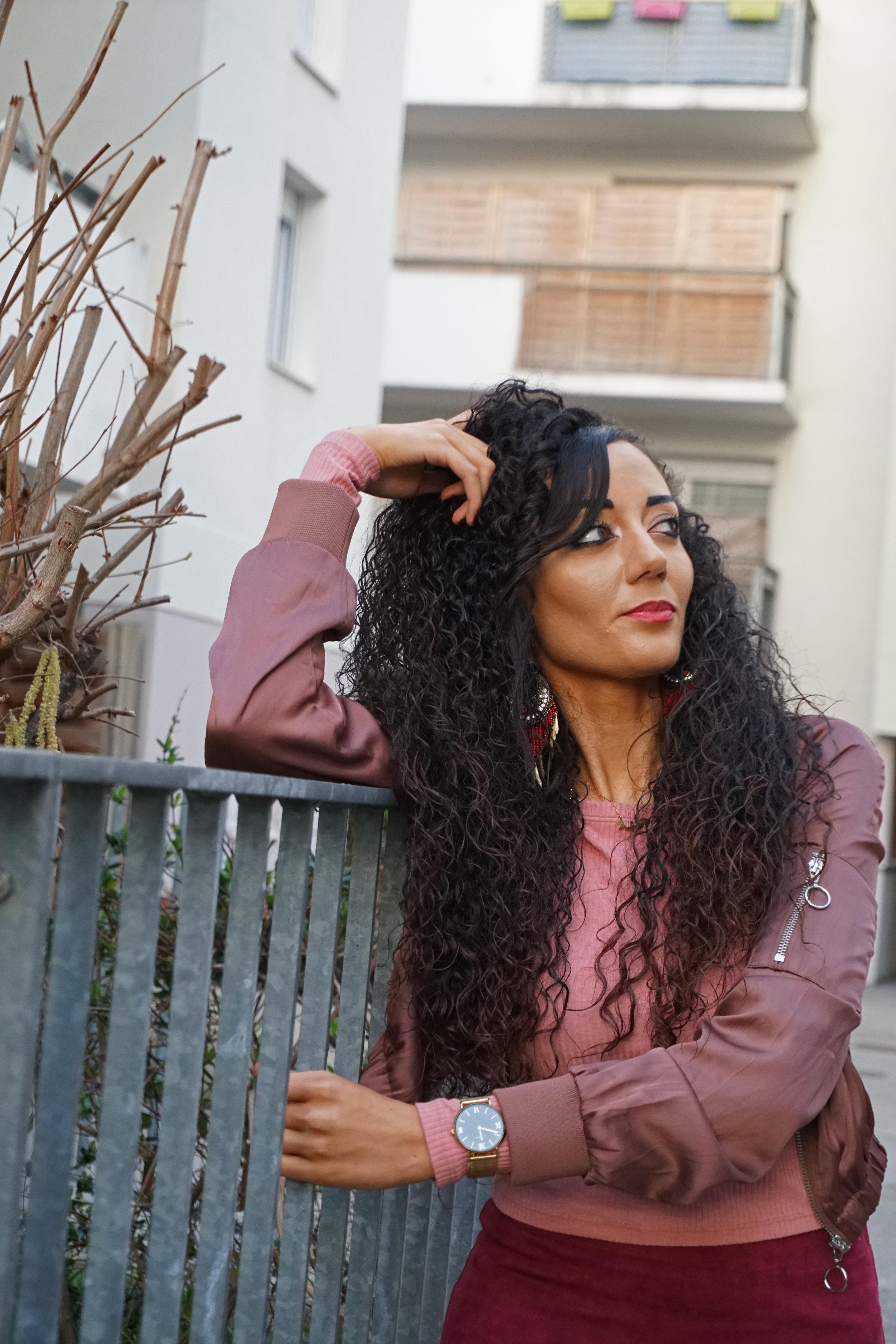 curly hair - cantu curl cream
