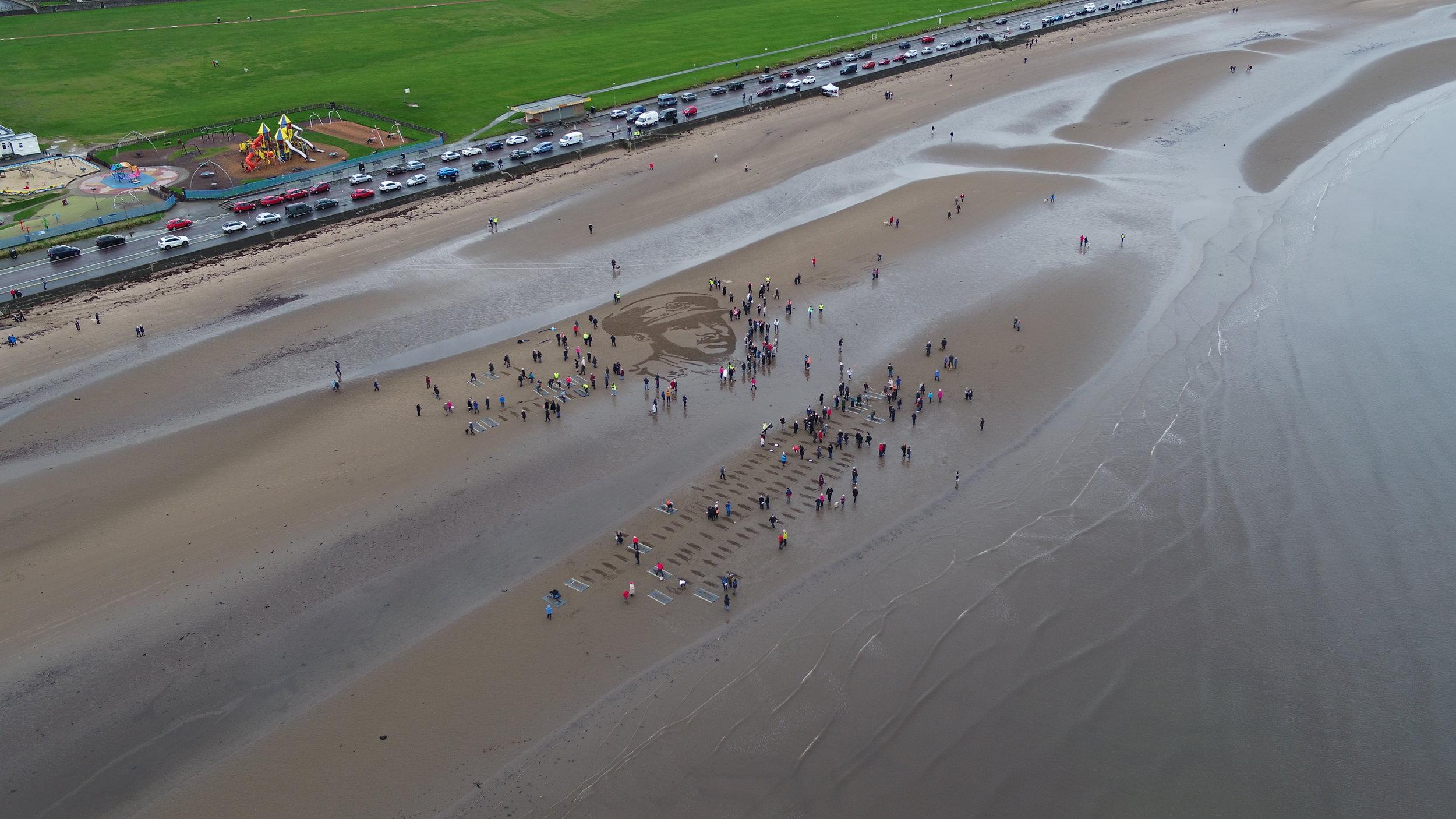 Drone shot Ayr beach.JPG