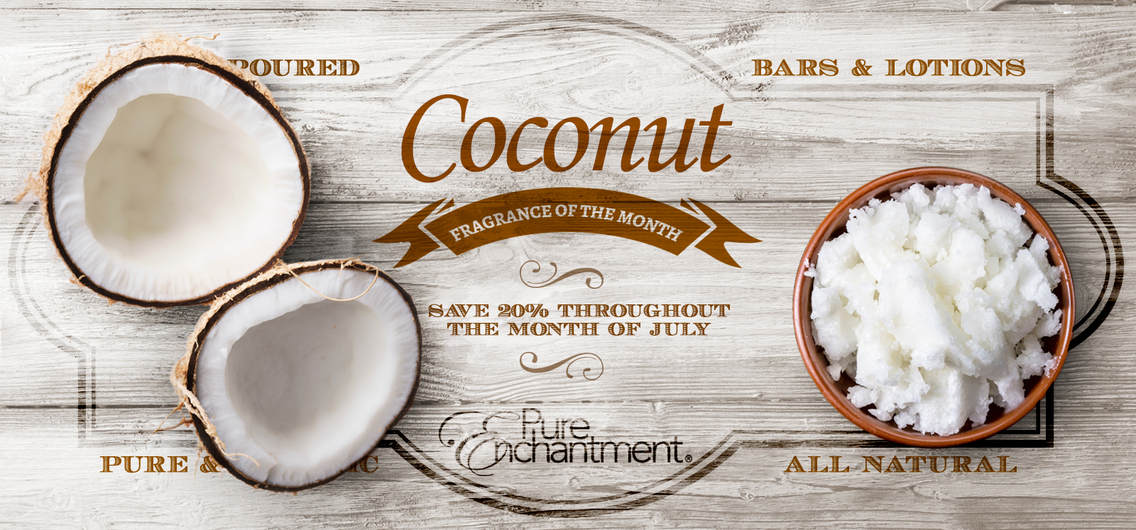 Coconut Fragrance at Pure Enchantment