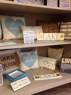 We have gifts for all the Lake Lovers in your life, available at Pure Enchantment!
