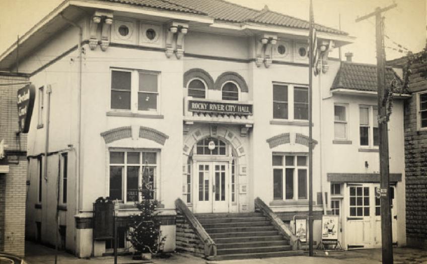 Photo courtesy of the Rocky River Historical Society