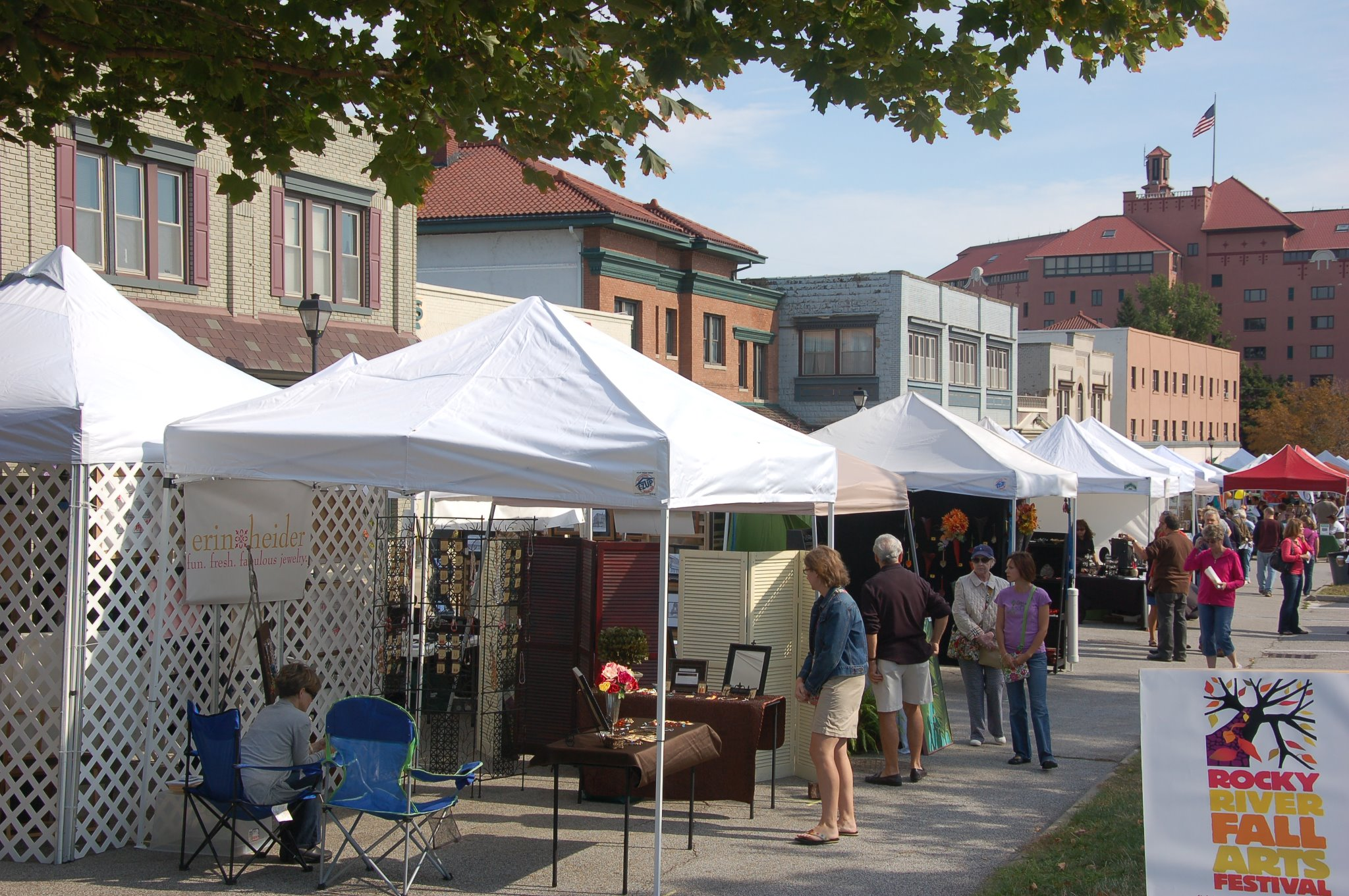 Fall Arts Festival on Old Detroit Road