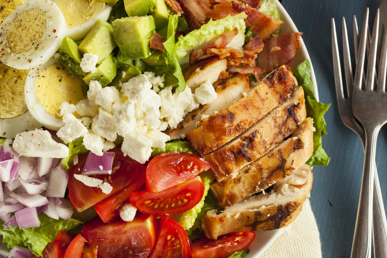 labor day cobb salad recipe