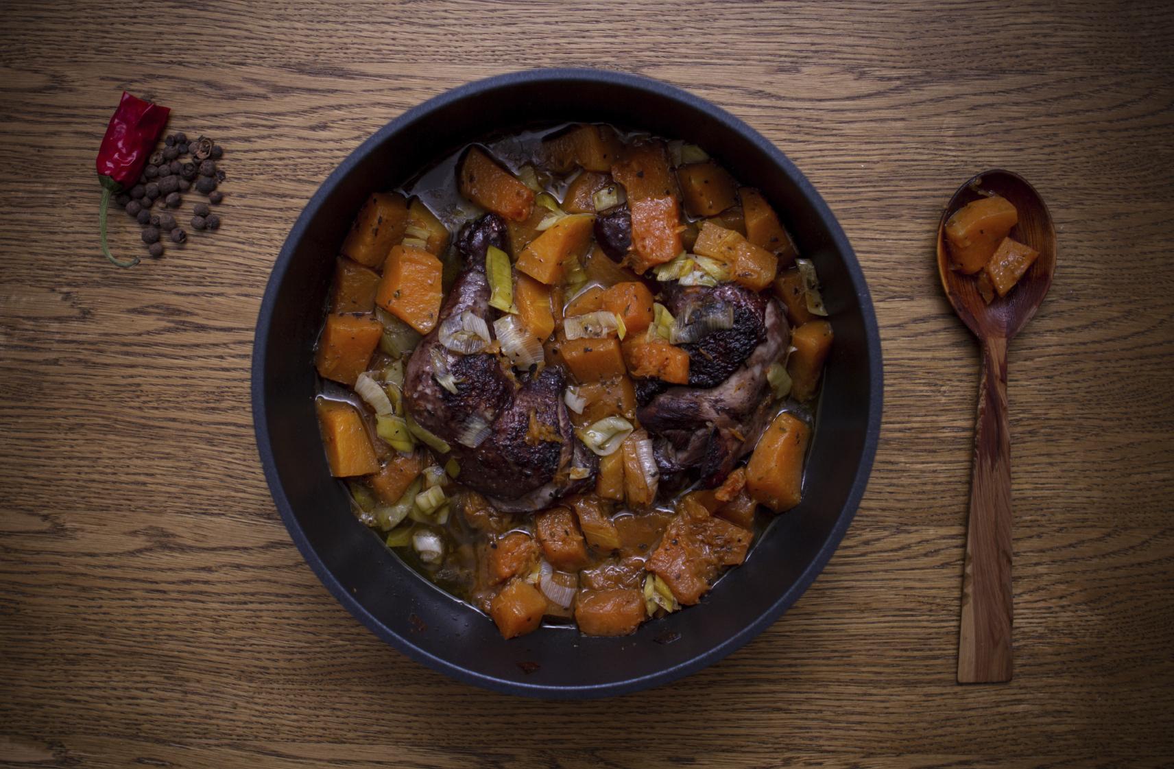 easy sweet potato stew