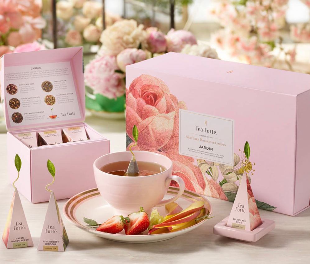 jardin tea gift set
