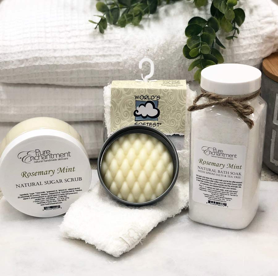 rosemary mint natural footcare