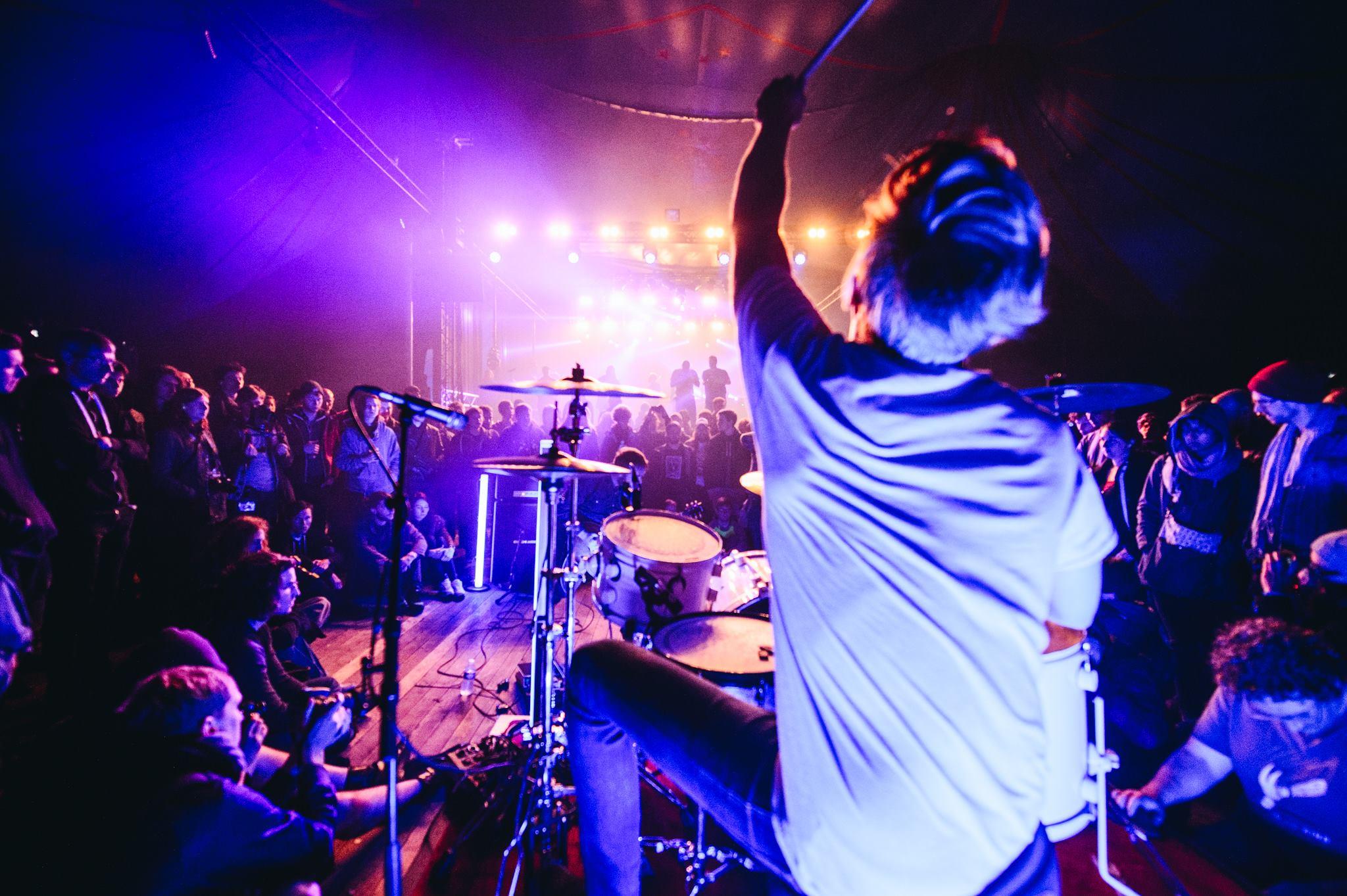 Picture by Davy De Pauw, Ilydaen at dunk!festival 2015.