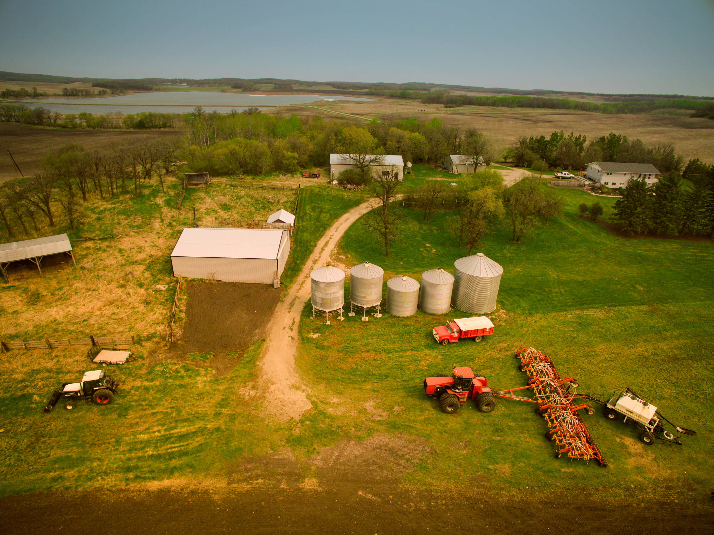 """You can often find Class G airspace """"in the middle of nowhere"""" - but not always. Always check if a small airport may be located nearby even when you are operating at the farm, or cottage - somewhere you think is quite remote."""