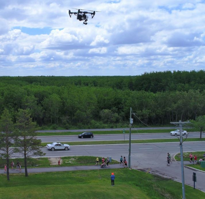 flying a drone in the city canadian uav regulations transport canada.JPG