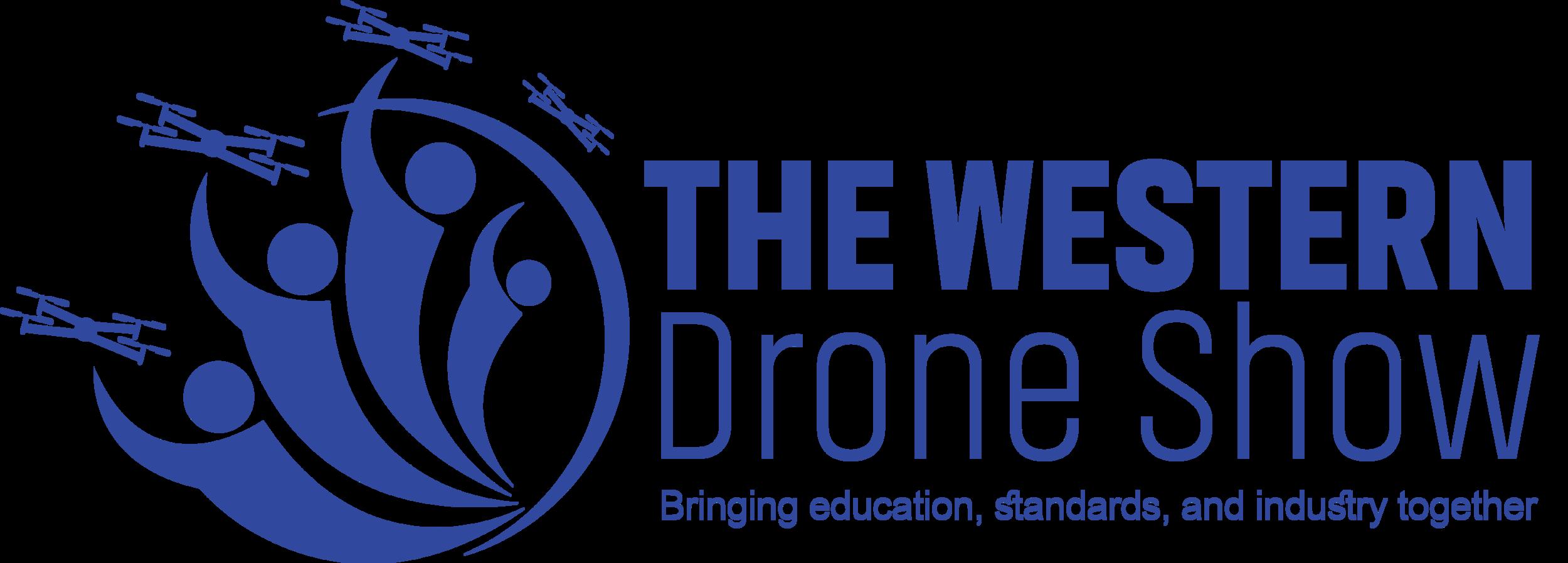 Western Drone Show Logo-Blue