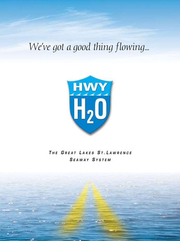 Highway H2O When St. Lawrence Seaway Corporation re-branded itself internationally to attract more shipping, Rebecca was the writer on the project. It was her idea to name the seaway, Hwy H20.