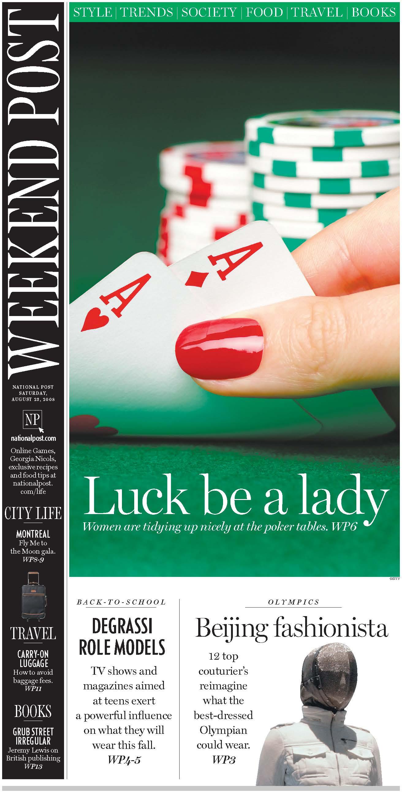 National Post - Aug 2008