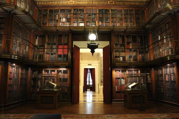 Library at the Morgan