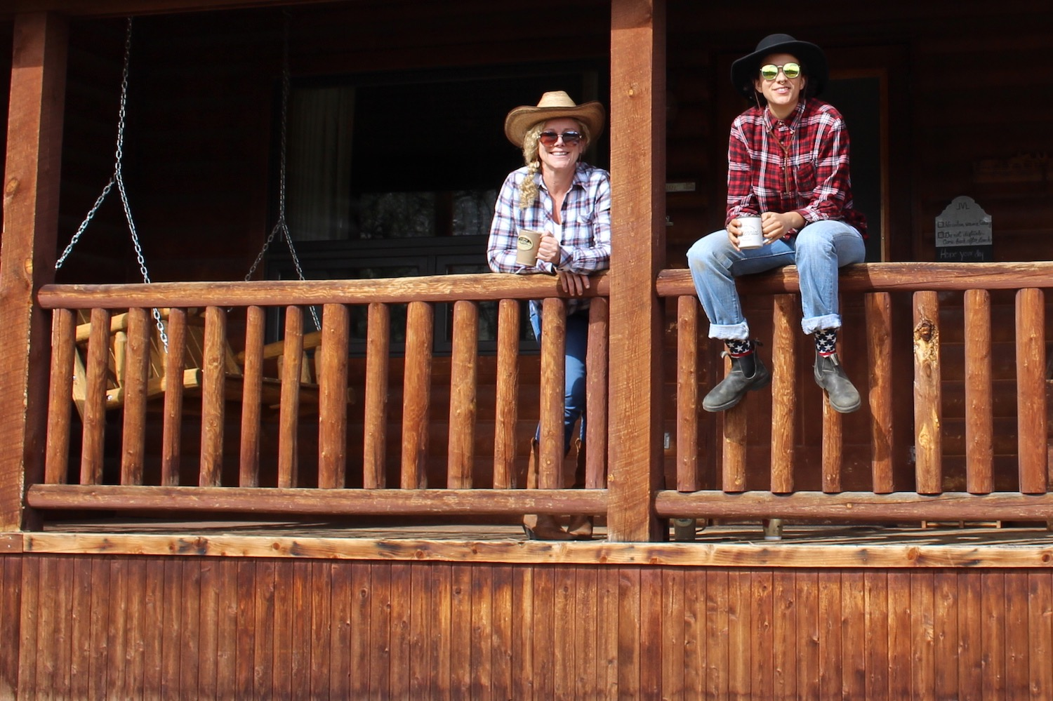 Connecting with my daughter, Sam, at Lost Valley Ranch in Colorado where we learned how to horseback ride, trap shoot and square dance.