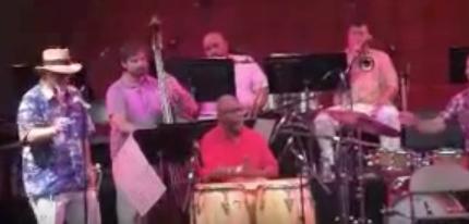 With Arturo O'Farrill Afro Latin Jazz Orchestra