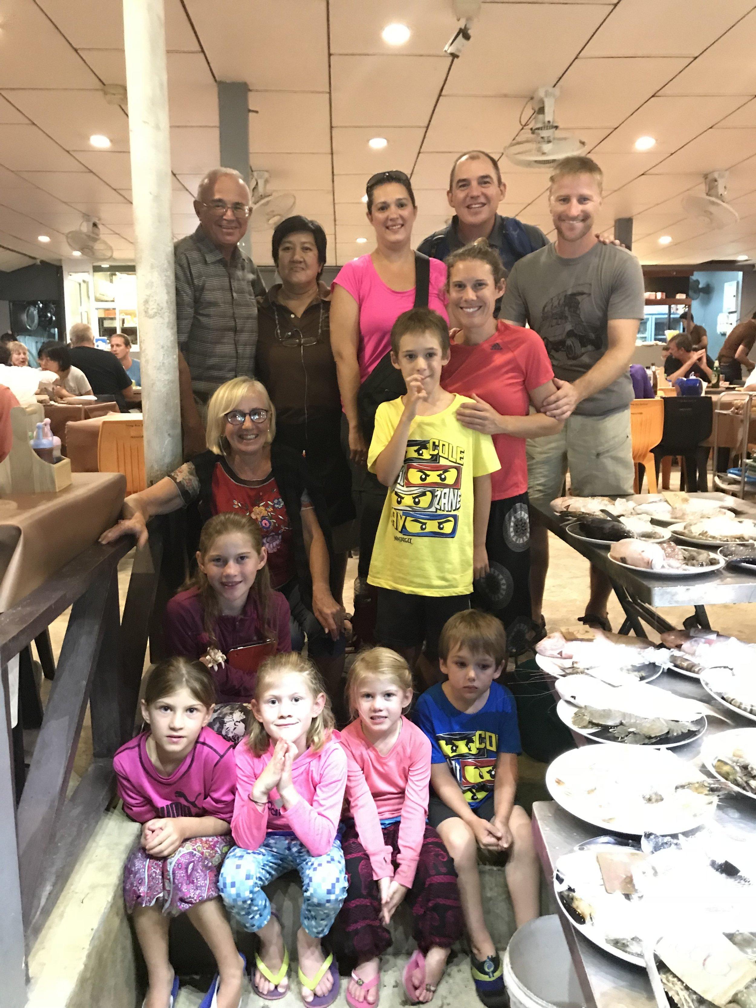 Notre dernier souper de gang, aussi bien dire en famille!!