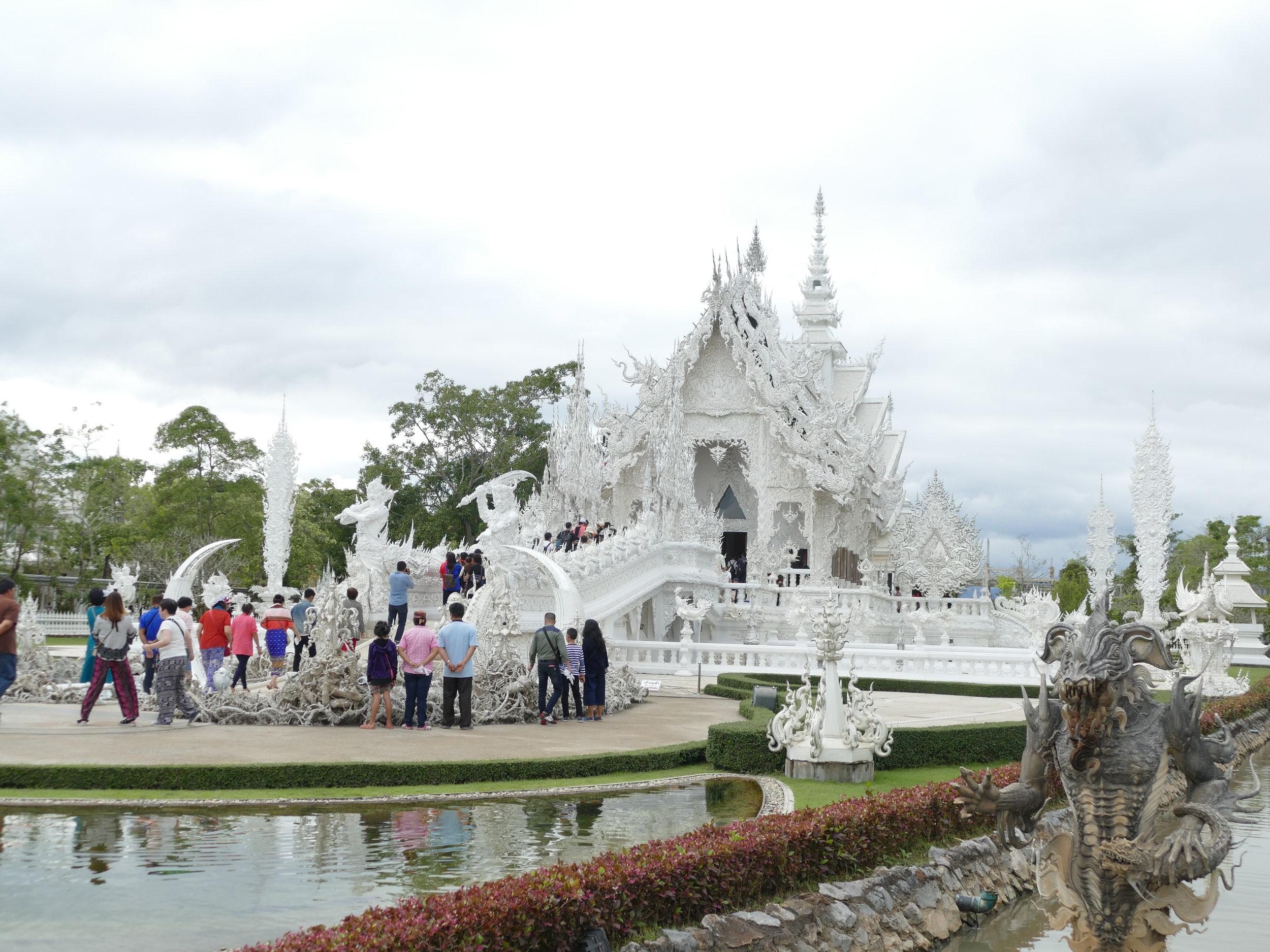 Un des temples hors de l'ordinaire de Chiang rai! Nous n'aurons pas été voir les autres.