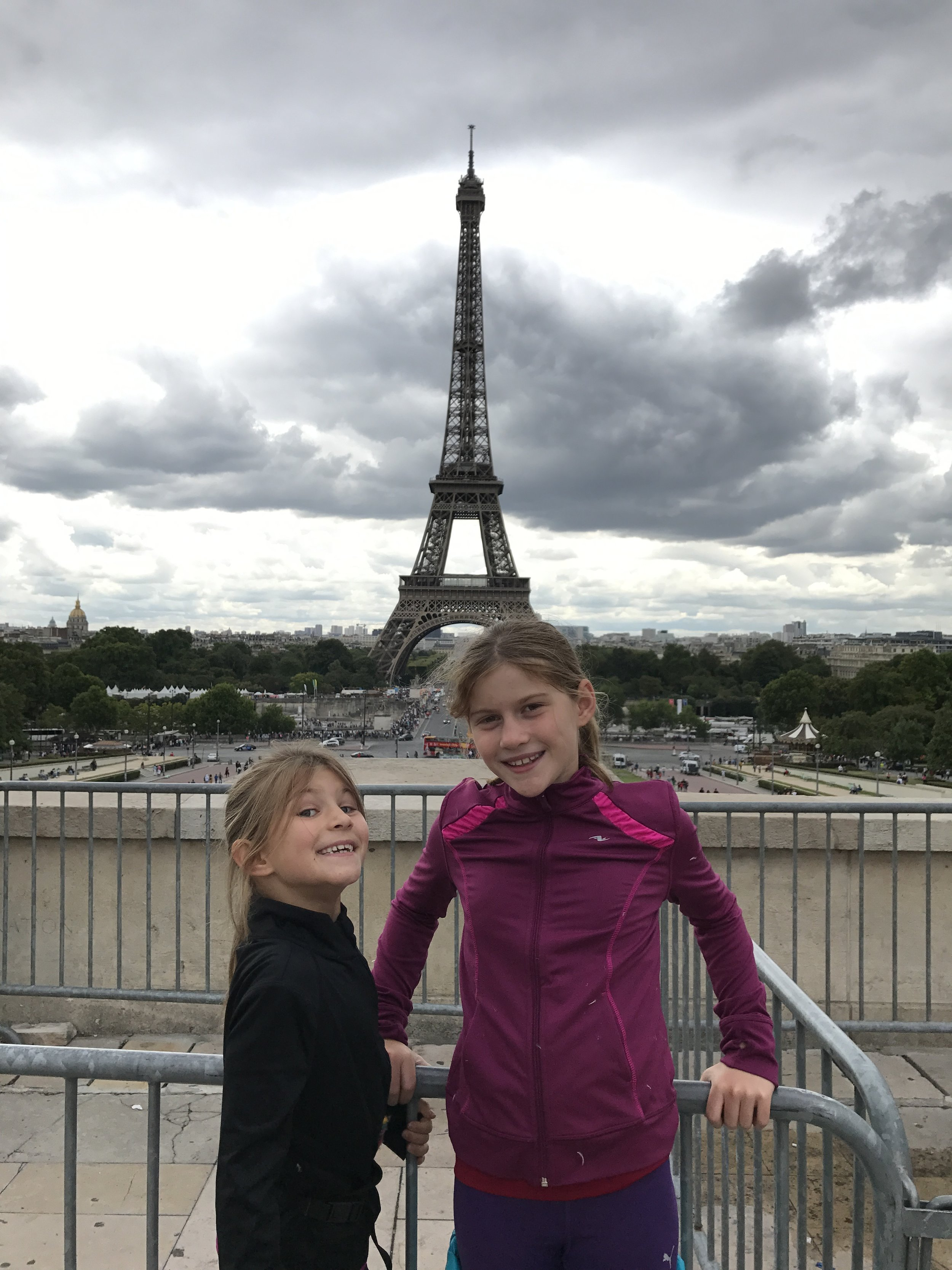 On avait quand même commencé fort notre tour du monde!