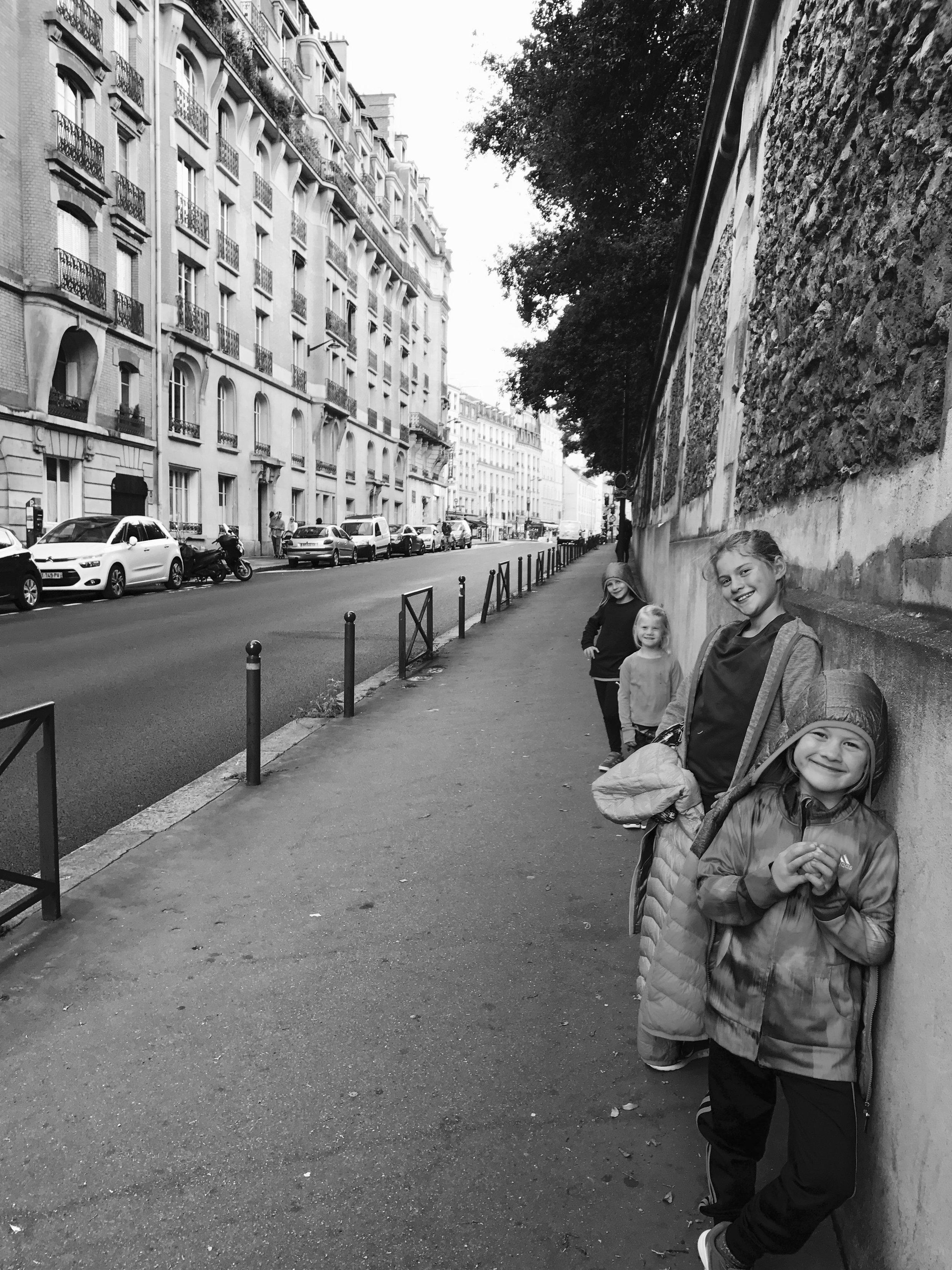 Quelque part dans les rues de Paris!